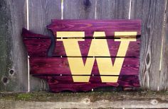 Recycled pallet UW sign http://www.etsy.com/listing/163954201/recycled-pallet-university-of-washington