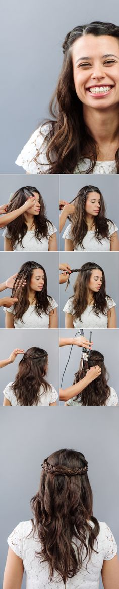 How To: Braided Wedding Hair for Beginners A Practical Wedding: Blog Ideas for the Modern Wedding, Plus Marriage