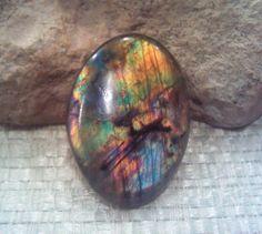 Labradorite Spectrolite Cabochon Calibrated Gem Stone Cc043