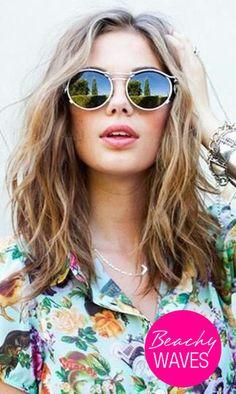 Just Beachy Hair Waves | Hairstyles for Summer | Medium Hairstyles