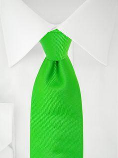 Grüne 7 Fold Krawatte