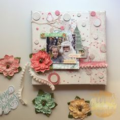 December Daily, Frame, Scrapbooking, Home Decor, Star, Xmas, Canvases, Objects, Daily Journal