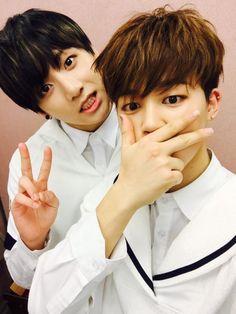 Jungkook and Jimin - BTS