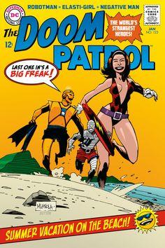 The Bristol Board: project-ragna-rok: Doom Patrol by Mike Mignola....