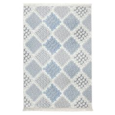 Lohman Blue/Grey Rug Longweave Rug Size: Rectangle 150 x 200cm