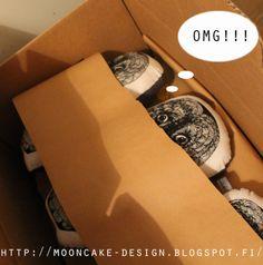 owls ready to fly Mooncake, Owls, Design, Owl, Moon Cake, Design Comics, Tawny Owl