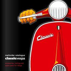 S.I.P. Classic Vespa parts catalogue