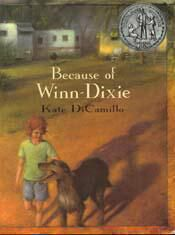 VOICE  A Lesson: Using Katie DiCamillo's Because of Winn Dixie as a model of voice-filled writing, this lesson focuses on writing from the voice of a character who has an interesting perspective, which is a sub-skill of the Voice Trait.  Click here (or on the book cover) to access and print this complimentary PDF lesson