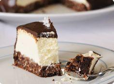 Cheesecake noix de coco / chocolat ou cheesecake bounty sans gluten !