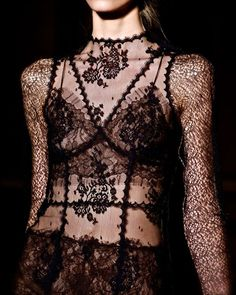 Darkly Decadent Lace (instagram: the_lane)