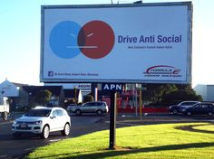 DRIVE ANTI SOCIAL. A new campaign by Rascals. Anti Social, New Zealand, Campaign, Public