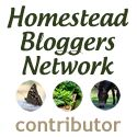 Contributor at the Homestead Bloggers Network Find out posts on HomesteadBloggersNetwork.com
