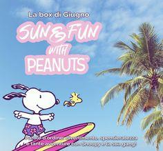 Sun&Fun with Peanuts: la MyBeautyBox di giugno 2021 | IL MONDO DI ROSIE Snoopy, Blog, Fictional Characters, Blogging, Fantasy Characters