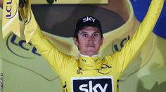 Tour de France 2017: Geraint Thomas wins opening stage, Chris Froome sixth - BBC Sport
