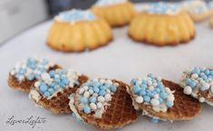 Alternatieven voor beschuit met muisjes! Jelsa, Reveal Parties, Mini Cupcakes, Gender Reveal, Babyshower, Drinks, Breakfast, Creative, Desserts