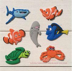 e7e64e8b8 Finding Nemo Dory Set of 7 Jibbitz PVC Crocs Natives (Generic) Birthday  Party Favors by CharmTM  Set of 7 Finding Dory Jibbitz (Generic)