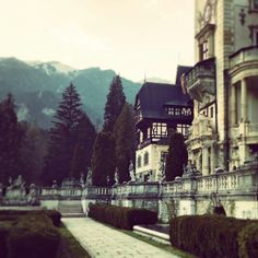 Peles Castle, Romania, the land of fairytales   http://www.pure-romania.com/golden-roads-gilded-autumn/  #peles #pureromania #romania #lights #road #lonelyplanet #holiday #inspiration #sun #freedom #places #romania #hohenzollern  #backtime #travel #moments #holiday #inspire #tower #architecture  #tourism #castle  #king #horse #royal #family