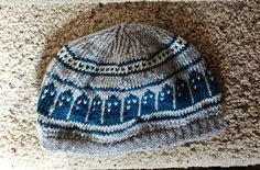 TARDIS Doctor Who Knit Slouchy Beanie