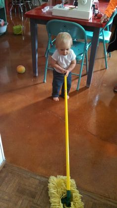 Harrison cleaning for nana