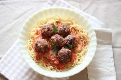 Almôndegas veganas / Vegan meatballs