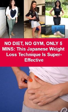NO DIET, NO GYM, ONLY 5 MINS: This Japanese Weight Loss Technique Is Super-Effective