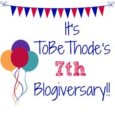 It their blogiversary!