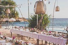 Truly & Madly Stories | Bali Beach Wedding at Sandy Bay Beach Club, Nusa Lembongan by Captured by Keryn