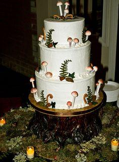 #woodland #cake