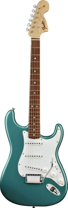 Awesome *teal green* Fender 66 Stratocaster - classic