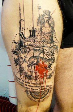 Tattoo Artist - Xoil Tattoo - time tattoo