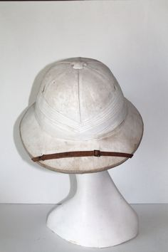 Antique Men's Safari Pith Helmet. Always liked these for some reason.