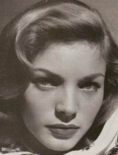 Lauren Bacall...gone but not forgotten on August 12, 2014.  You were real beauty, talent, class, and a touch of mystery.