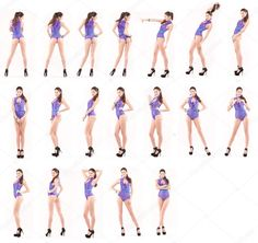 Similar images to 173321092 Collage, Beautiful full body brunette women in sexy underwear Female Modeling Poses, Female Poses, Athletic Body Types, Girl Anatomy, Human Poses Reference, Body Sketches, Figure Poses, Posing Guide, Female Character Design