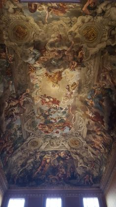 Pietro da Cortona. Divine Providence. Fresco. Palazzo Barberini. Roma, Italia.