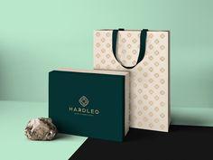 Hardleo Gems & Jewellery on Behance Fruit Packaging, Perfume Packaging, Food Packaging Design, Luxury Packaging, Packaging Design Inspiration, Jewelry Packaging, Branding Design, Candle Packaging, Beauty Packaging