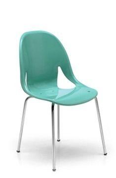 sillas plasticas apilables nina diseño,comedor cocina