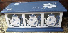 Eliane Artesanato: caixas chá