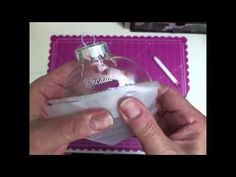 ▶ Applying vinyl to a Christmas ornament - YouTube