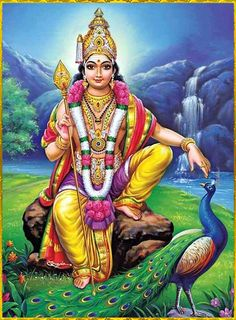 ✴️ KARTIKEYA ॐ ✴️ Lord Ganesha Paintings, Lord Shiva Painting, Ganesha Drawing, Lord Murugan Wallpapers, Lord Krishna Wallpapers, Shiva Art, Hindu Art, Lord Photo, Ganesh Photo