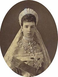 imperatrice Maria Fedorovna femme d'Alexandre III