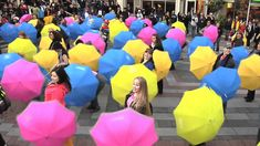See You in the Crosswalk - Official Umbrella Flash Mob