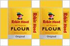 dollhouse miniature Robin Hood flour box printable