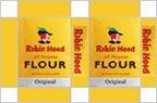 dollhouse miniature Robin Hood flour box printable