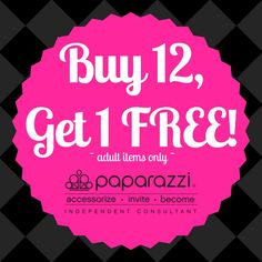 Buy 12, Get 1 FREE! Paparazzi $5 Accessories. Click the pic to Shop with Me, or Join my Team! You'll love this beautiful $5 Jewelry! #buy12get1free #fivedollarjewelry #freejewelry #funwithfriends #hostaparty #homeparty #paparazziaccessories #karisjewelryboutique