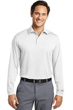 8213be55 Long sleeves elevate this polo to another level of sophistication while  Dri-FIT moisture management technology adds unparalleled performance.