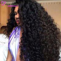Brazilian Virgin Hair With Closure Deep Wave Brazilian Hair Wet And Wavy Virgin Human Hair Weave 4 Bundle With Closure Deep Wave