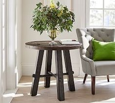 Small End Tables & Small Side Tables | Pottery Barn