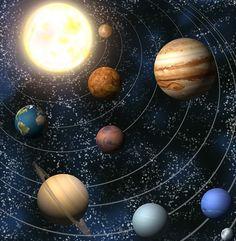 Vocah! | Les planètes du Système solaire | Soleil, Mercure, Vénus, Terre, Mars, Jupiter, Saturne, Uranus, Neptune, Pluton
