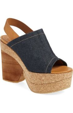 See by Chloé 'Edith' Platform Clog Sandal (Women) available at #Nordstrom