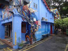 Street Art - Haji lane - Singapour (3)